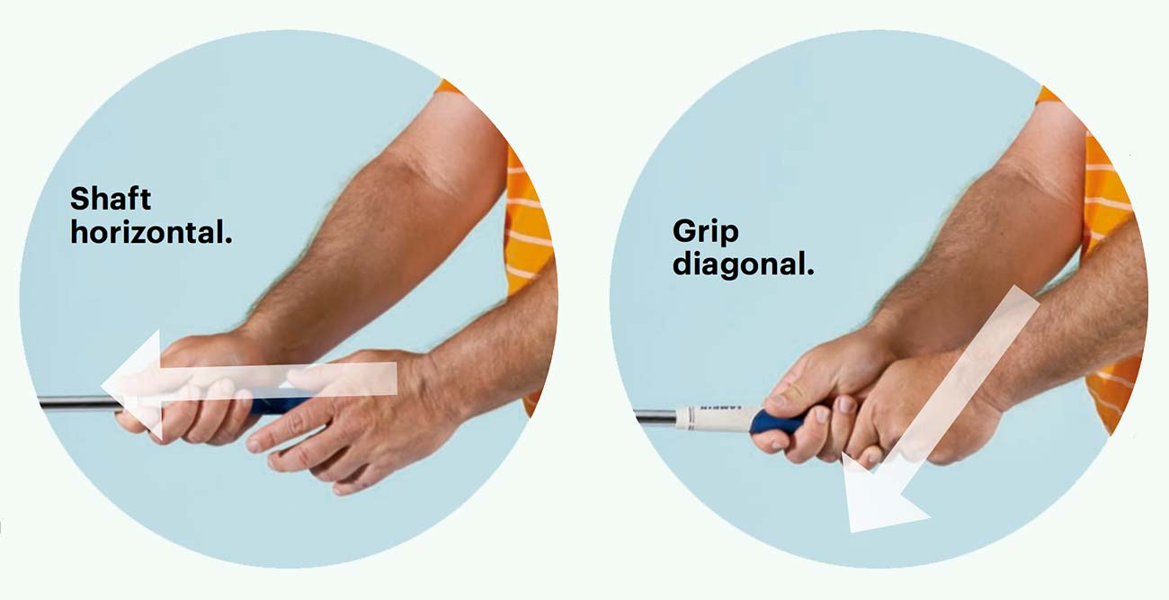 Get the perfect grip: Test to nail the best grip for your swing