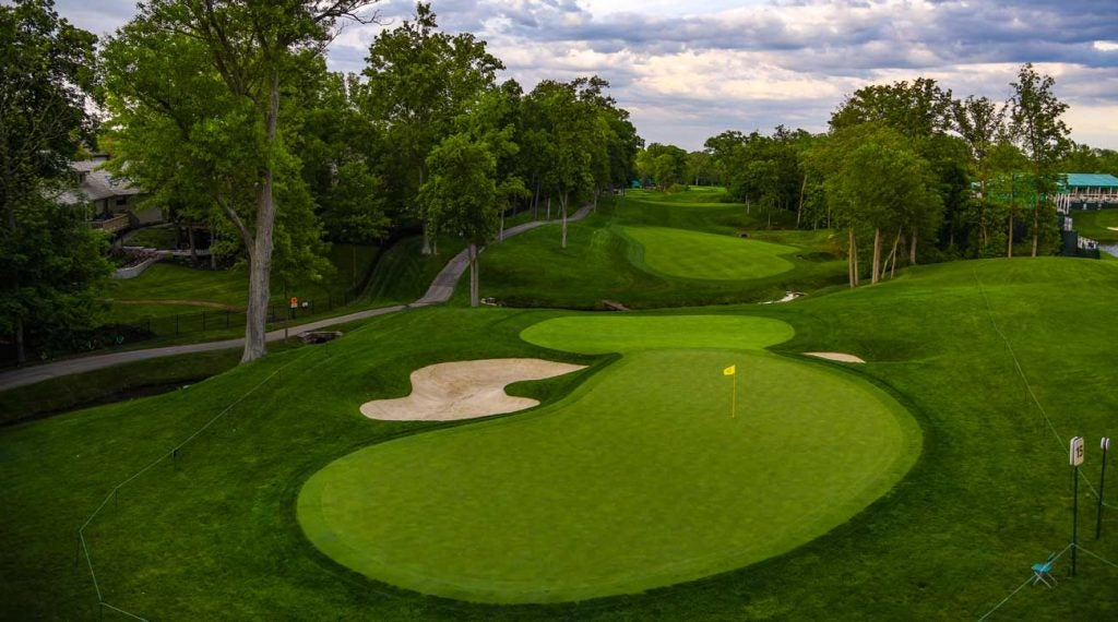 Jack Nicklaus is revisiting his work at Muirfield Village.