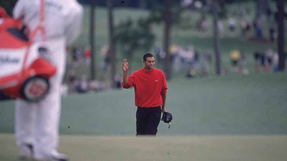 Tiger Woods was the youngest player to win the Masters at age 21.