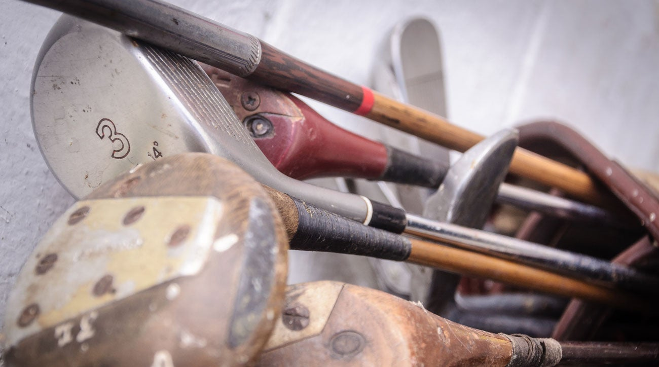 What are old, antique golf clubs worth?