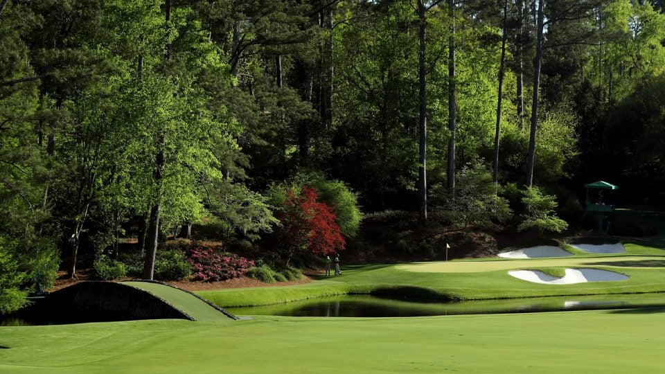 Augusta National, the home of the Masters, has famously christened each hole on its hallowed grounds with a plant-based name.