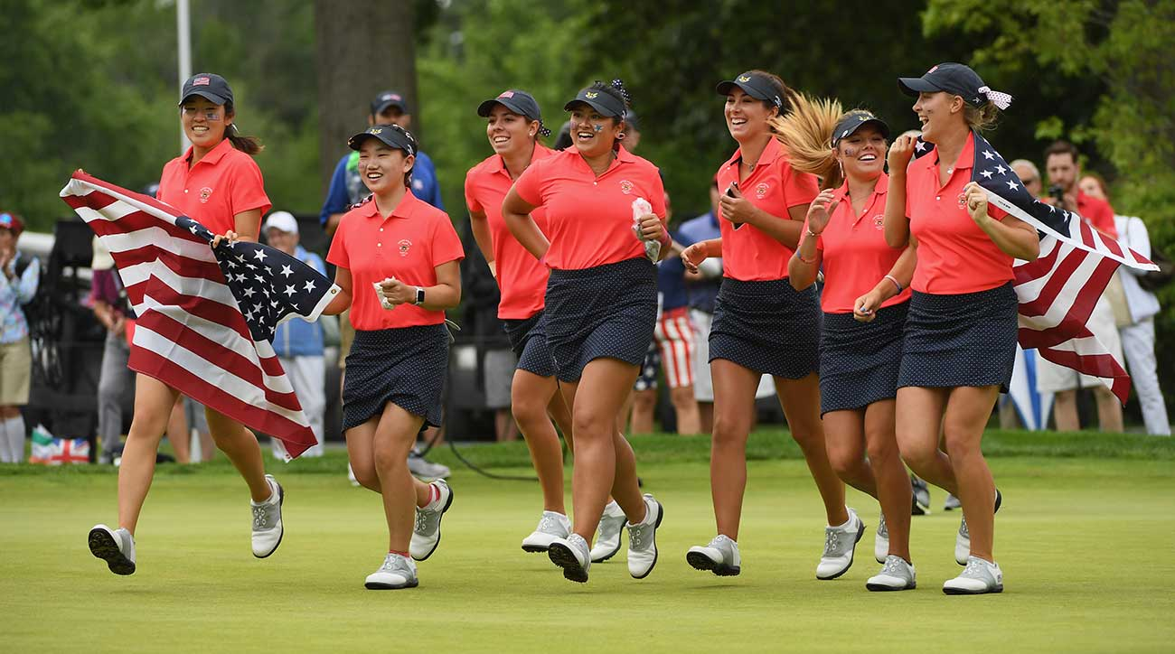 U.S. Curtis Cup team caps rout of GB&I with perfect Sunday ...