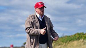 President Donald Trump is an avid golfer.