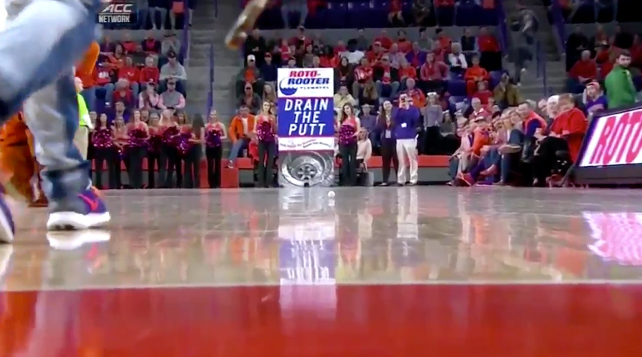 watch  clemson student wins  10 000 on full