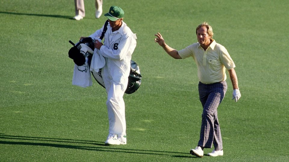 At 46 years old, Jack Nicklaus is the oldest player to win the Masters after he won his sixth green jacket in 1986.