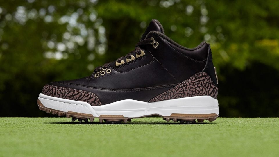 Nike releases new Air Jordan III golf shoes for 30th anniversary
