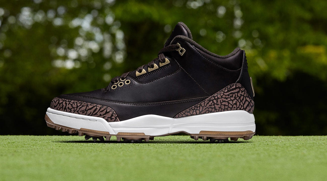 2b11fe634a81 Nike releases new Air Jordan III golf shoes for 30th anniversary