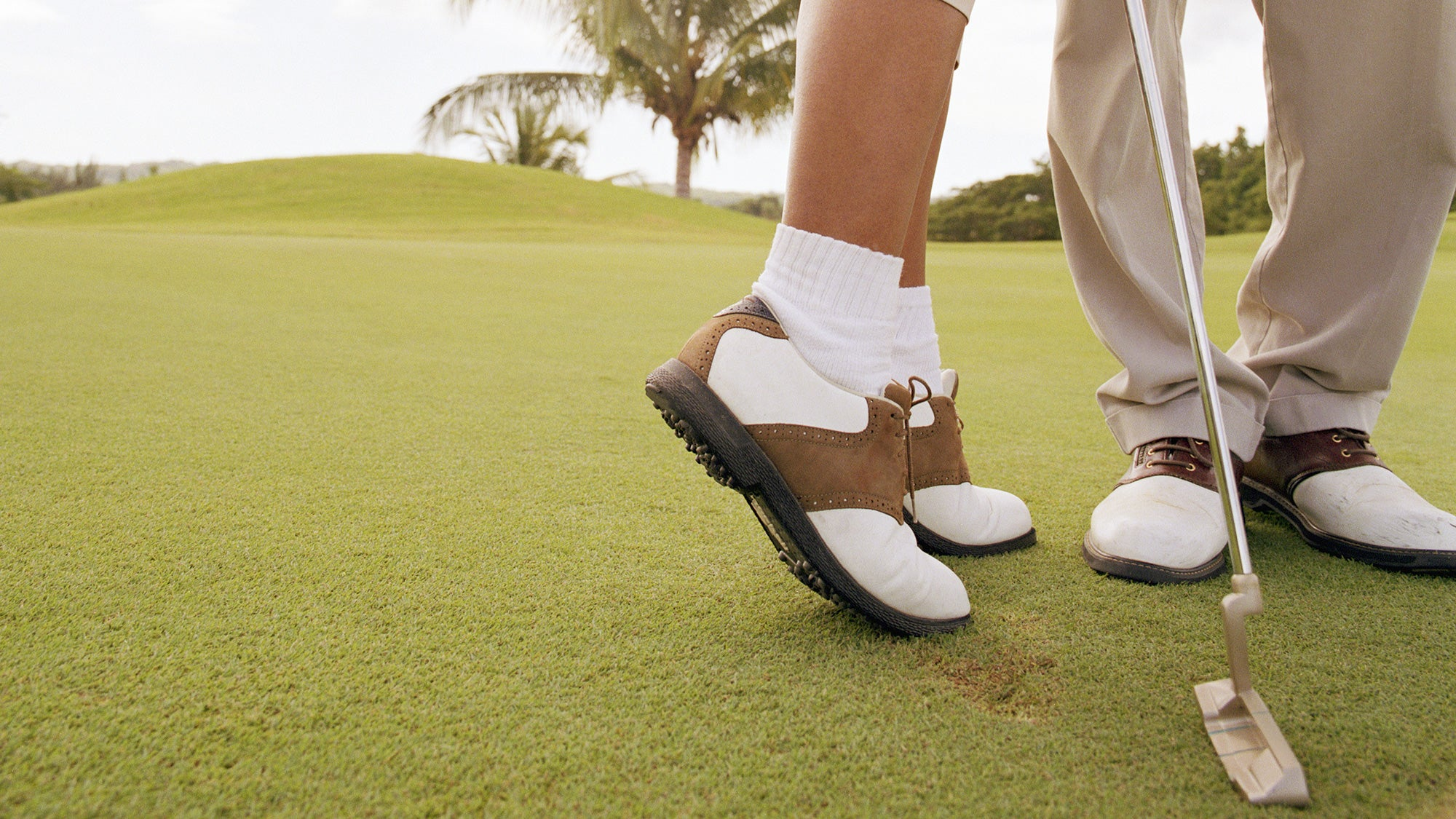 Sex on the golf course