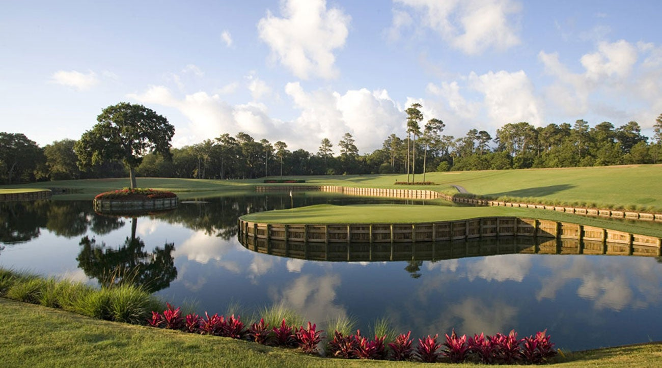 """There is no more iconic hole at TPC Sawgrass than the """"Island Green"""" 17th hole."""