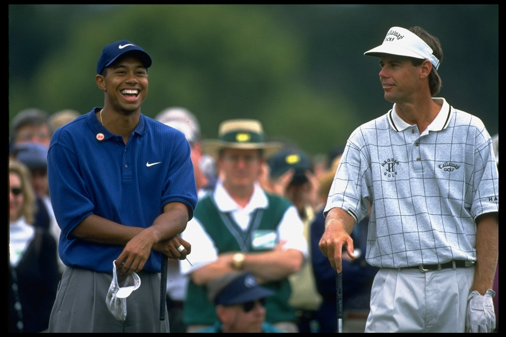tiger woods 1997 masters photos