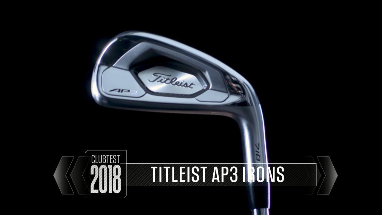 Titleist 718 AP3 irons: ClubTest 2018